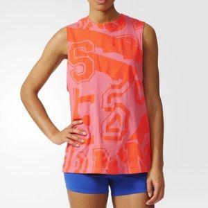 Adidas Stella Sport Climalite Cotton Graphic Tank
